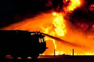 Kebakaran SPBU Hanguskan Bus Jember Indah