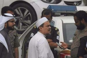 Rizieq Ditahan Polisi Saudi Gara-gara Bendera Hitam