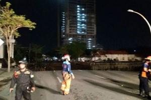 Polda Jatim Amankan 3 Pekerja Terkait Jalan Ambles