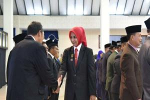 Bupati Jember Lantik Pejabat Pemkab: Jangan Bermuka Dua!