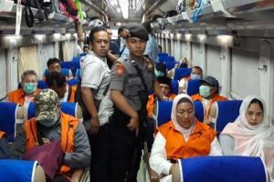 KPK Pakai KA Angkut Rombongan Anggota DPRD Kota Malang ke Jatim