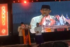 Pekan Ngaji Internasional di Madura, Sandi Ogah Bicara Politik