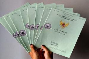 BPN Sidoarjo Bagikan 60.000 Sertifikat Tanah