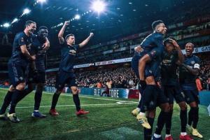Menang 3-1, Manchester United Singkirkan Arsenal dari FA Cup