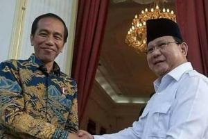 Survei: Elektabilitas Jokowi dan Prabowo Beda Tipis