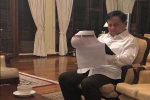 Batal ke Acara PKS,  Prabowo Kena Flu