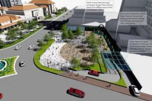 Proyek Basement Balai Pemuda Surabaya Masuk Tahap Akhir