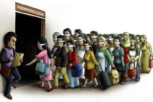 Duh, 12 Tahun TKI Asal Kota Malang Tak Digaji