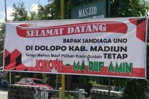 Diteriaki Pendukung Jokowi, Sandi Malah Berterima Kasih