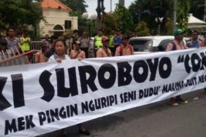 Demo, 'Rakyat Jelata' Tolak Mainkan Lagu Tentang Jokowi