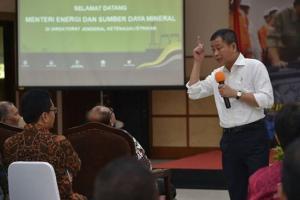 Jonan Tanggapi Sudirman Said Soal Pertemuan Jokowi-Bos Freeport