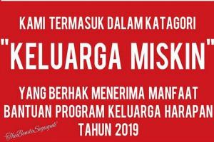 Stiker untuk Penerima Bantuan Dinilai Sensitif