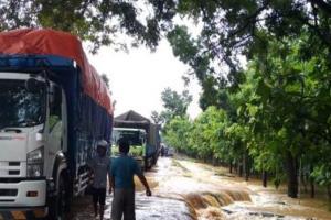 Banjir di Madiun,  Jalur Ngawi-Caruban Ditutup untuk Truk