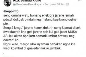Warga Ponorogo Ramai-ramai Hijrah karena Isu Kiamat?