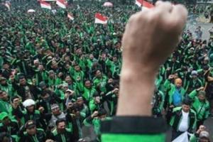 Demo, Ribuan Driver Ojol Se-Jatim Turun ke Jalan Hari Ini