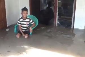 Banjir Kembali Terjang Ratusan Rumah di Jombang