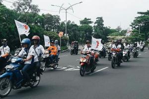 May Day, Ribuan Buruh Demo di Kantor Gubenur Jatim