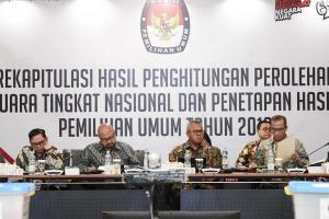 KPU Jatim Gelar Rekap Suara Pemilu