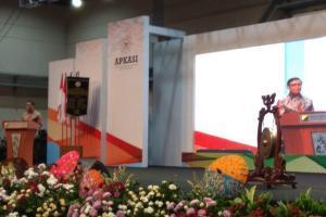 Pesan Jokowi di Apkasi Otonomi Expo 2019