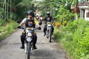 Polres Lumajang 'Panen' Motor Bodong