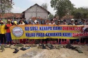 Petani Garam Doakan Khofifah Sebelum Hadap Jokowi