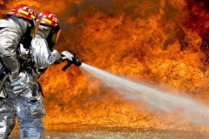 Kebakaran Landa Asrama Polisi di Surabaya