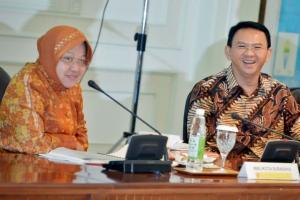 Ahok Masuk Bursa Pilwali Surabaya, Risma 'Dirayu' ke Jakarta