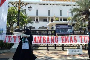Demo, Walhi Beber Catatan Bencana Ekologis di Jatim