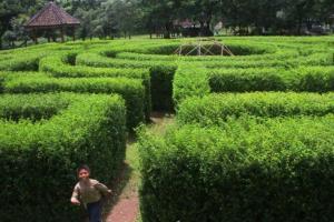 Hijaunya Benteng Pendem di Ngawi