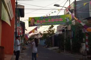 Beredar Spanduk 'Ahok Bakal Calon Wali Kota Surabaya'