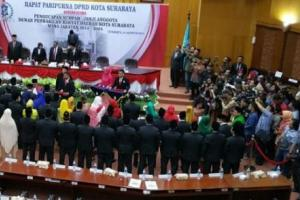 Surabaya Resmi Miliki Wakil Rakyat Periode 2019-2024
