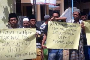 Buntut Bentrok Pilkades, Massa Demo DPRD Sumenep
