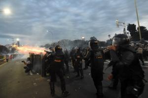 Wajah Jakarta Berantakan Jelang Pelantikan DPR