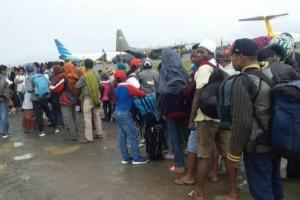 Warga Probolinggo Antre Dipulangkan dari Wamena