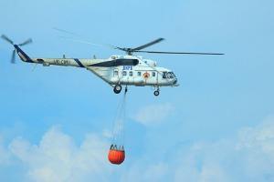 Heli 'Water Bombing' Dikerahkan ke Gunung Arjuno