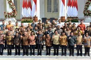 Inilah Susunan Kabinet Indonesia Maju Jokowi-Ma'ruf