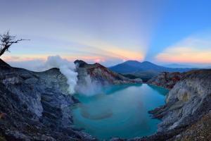 Aman, Taman Wisata Kawah Ijen Kembali Dibuka
