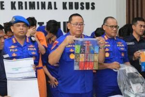 Ditangkap, 18 'Hacker' Milenial Surabaya Sasar Warga Eropa