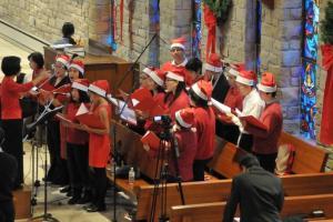 Perayaan Natal di Kediri Berjalan Aman dan Lancar