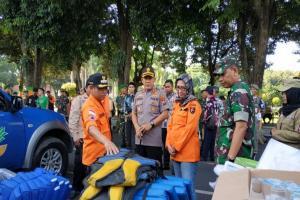 Bupati Lumajang Imbau Pasukan Siaga Bencana Tingkatkan Kewaspadan