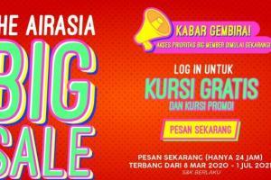Bangkitkan Gairah Pariwisata Dalam Negeri, AirAsia Sediakan 6 Juta Kursi Promo