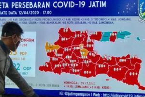 Bertambah Lagi, Pasien Sembuh dari Covid-19 di Jatim Menjadi 69 Orang