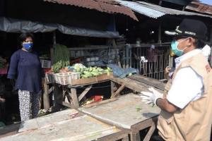 Satu Pedagang Terindikasi Positif Covid-19, Rapid Test Segera Digelar di Pasar Gadang