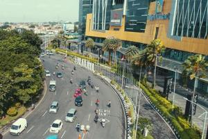 Beberapa Titik Keramaian di Surabaya Terpantau Lengang di Hari Kedua PSBB