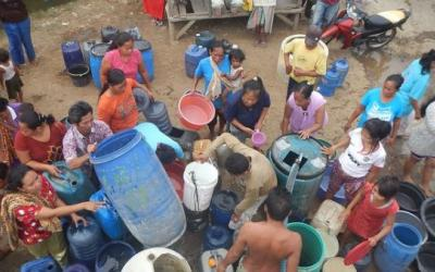 Belum Hujan, 1 Juta Liter Air Bersih Disalurkan di Jatim