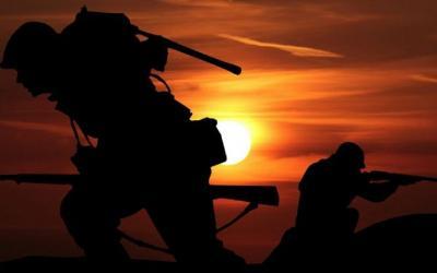Beredar Video Diduga Latihan Perang di Pemukiman Warga