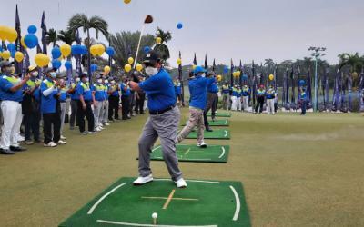 Ratusan Peserta Ramaikan Turnamen Golf IKA UII
