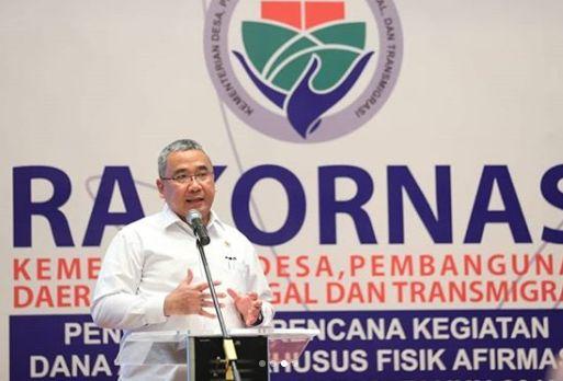 Menteri Desa: Kades Tak Perlu Takut Gunakan Dana Desa