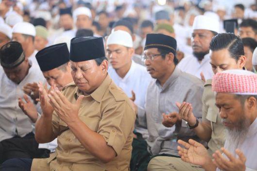 Prabowo Absen di Sidang Putusan MK Besok