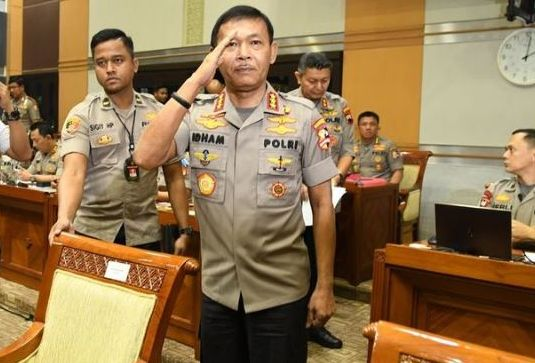 Dilantik Jokowi, Ini Jejak Karier Kapolri Baru Idham Aziz